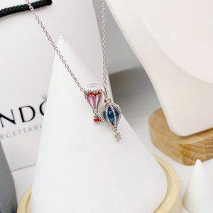 🎆NWT Hot Air Balloon Travel Chain Necklace